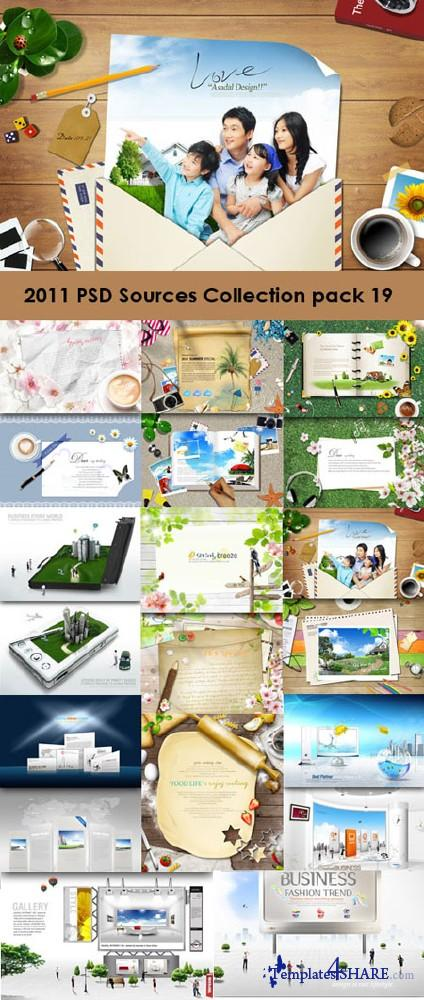 2011 PSD Sources Collection (Pack 19)