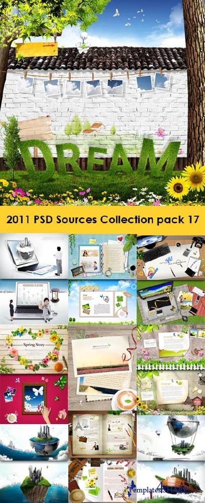 2011 PSD Sources Collection (Pack 17)