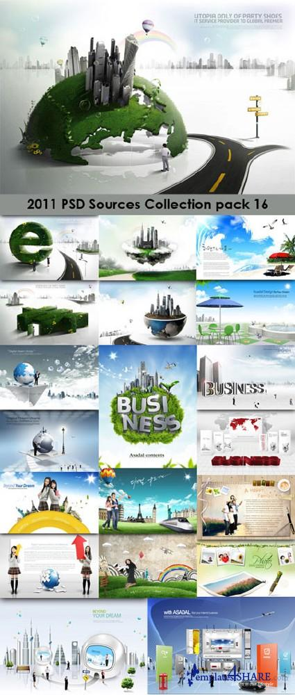 2011 PSD Sources Collection (Pack 16)