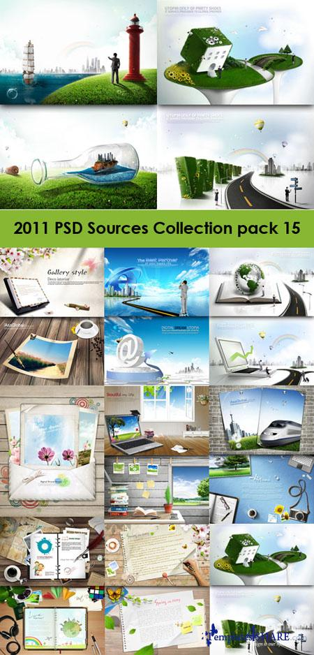 2011 PSD Sources Collection (Pack 15)