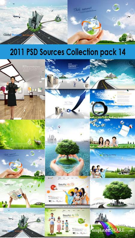 2011 PSD Sources Collection (Pack 14)