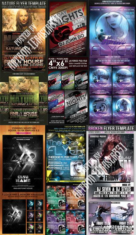 GraphicRiver Flyers Templates Pack 11