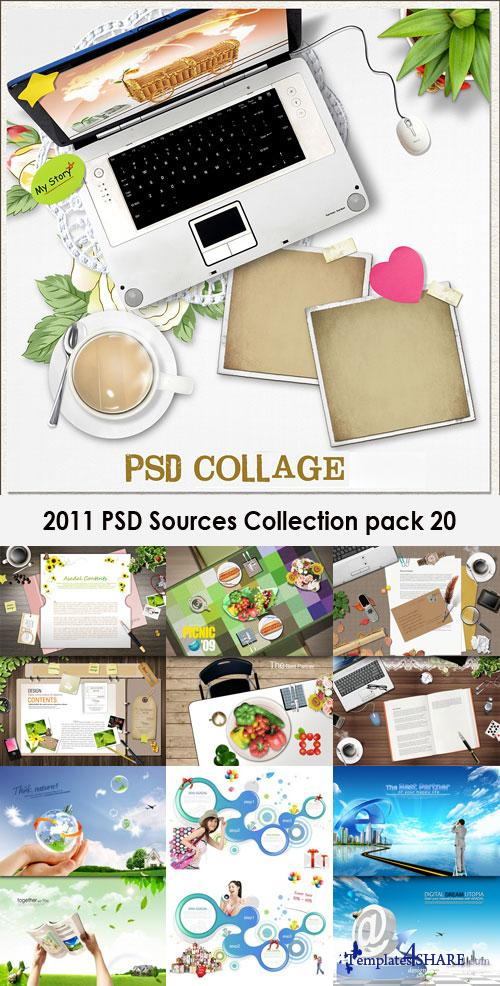 2011 PSD Sources Collection (Pack 20)
