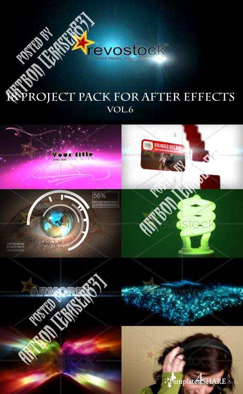18 Project Pack for After Effects Vol.6 (Revostock)