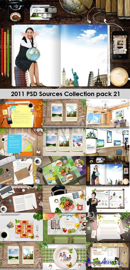 2011 PSD Sources Collection (Pack 21)