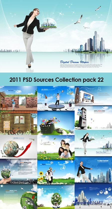 2011 PSD Sources Collection (Pack 22)