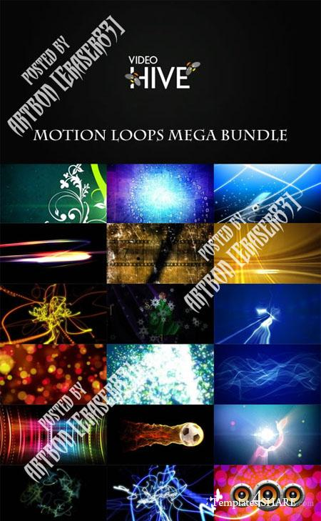 Motion Loops Mega Bundle (Videohive)