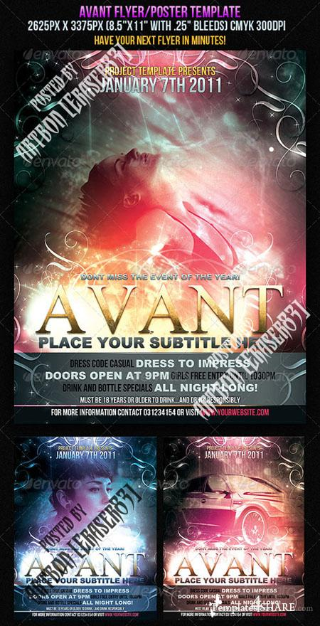 GraphicRiver Avant Flyer/Poster Template