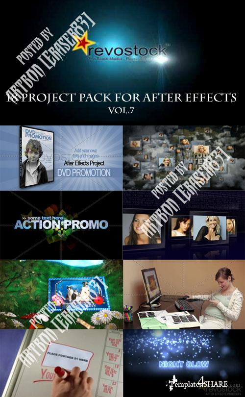 18 Project Pack for After Effects Vol.7 (Revostock)