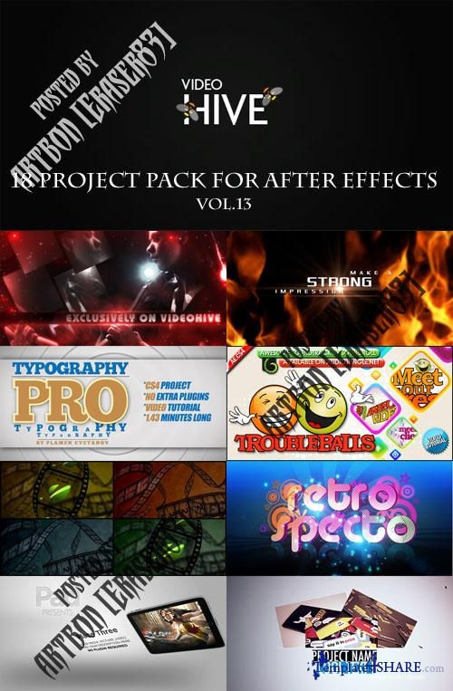 18 Project Pack for After Effects Vol.13 (Videohive)