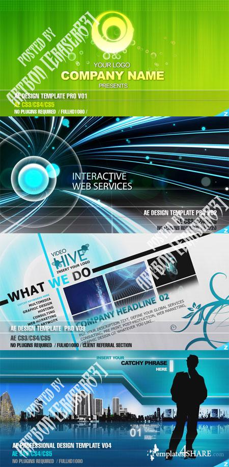 Videohive Projects - Professional Design Templates Pack