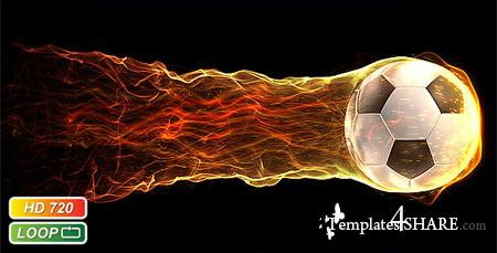 Soccer Fireball  - Footage for After Effects (Videohive)