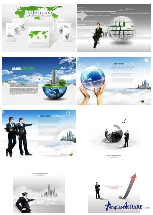 PSD Source Gallery - Business & Technology (Volume 17)
