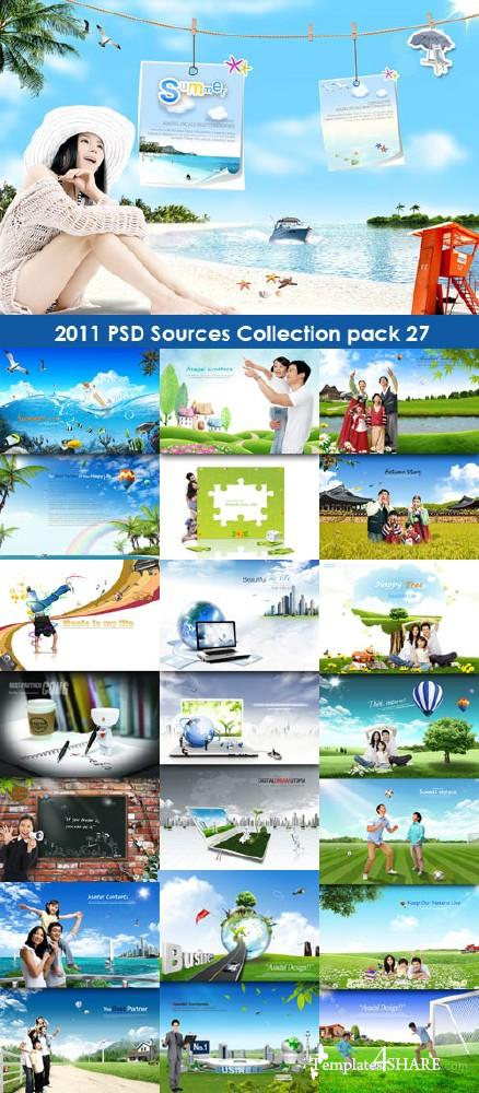 2011 PSD Sources Collection (Pack 27)