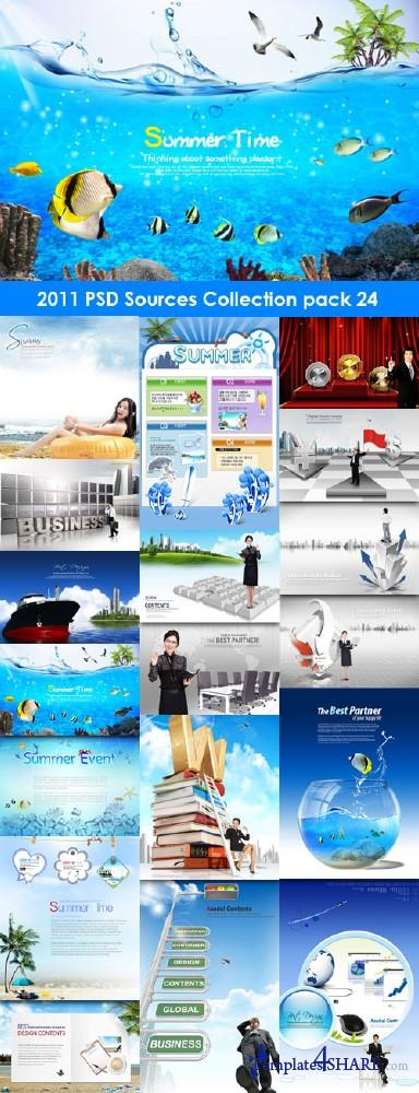 2011 PSD Sources Collection (Pack 24)