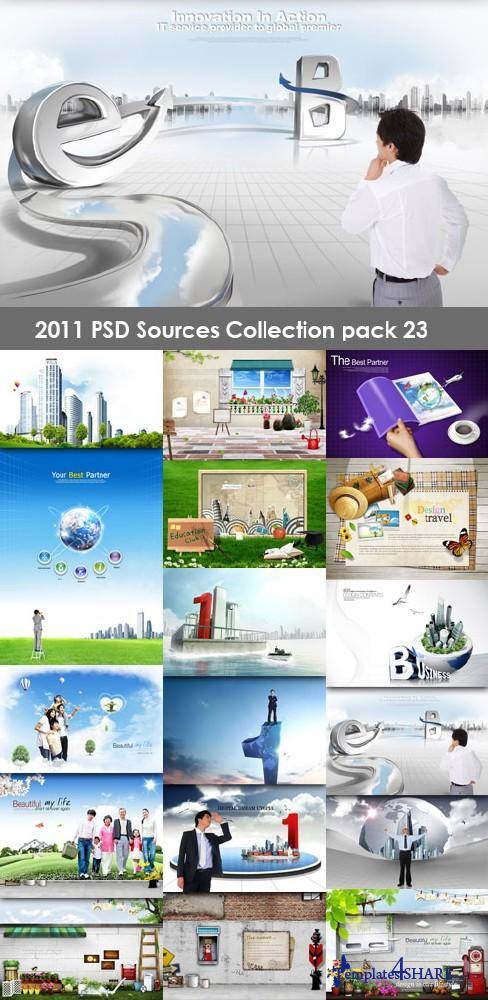 2011 PSD Sources Collection (Pack 23)