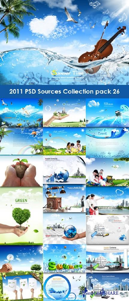 2011 PSD Sources Collection (Pack 26)