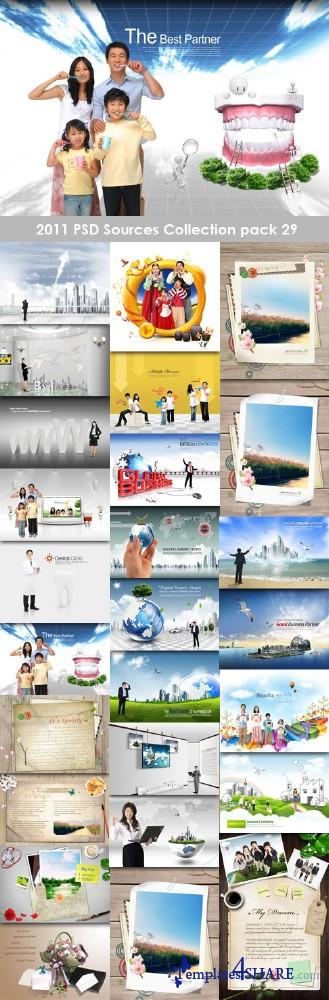 2011 PSD Sources Collection (Pack 29)