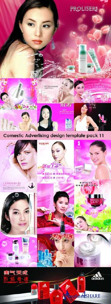Cosmetic Design PSD Templates Collection (Pack 11)