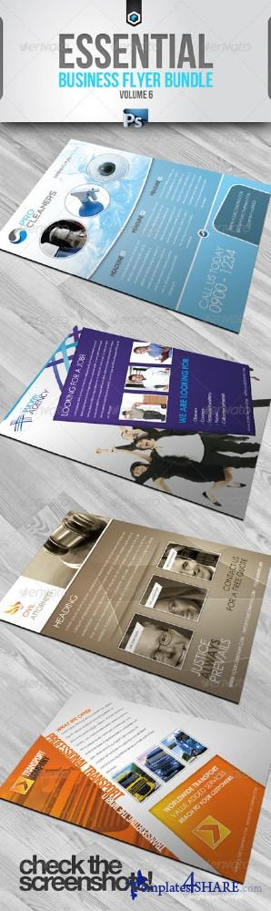 GraphicRiver RW Essential Business Flyers Bundle Vol 6