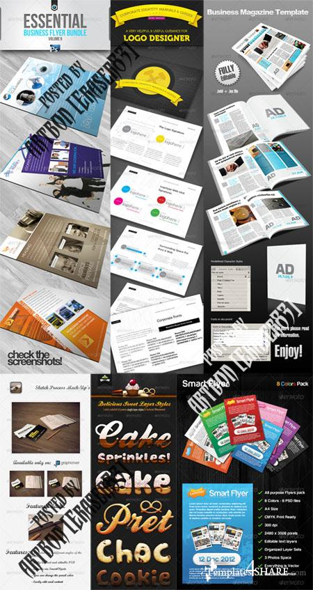 GraphicRiver Stylish Design Collection 3
