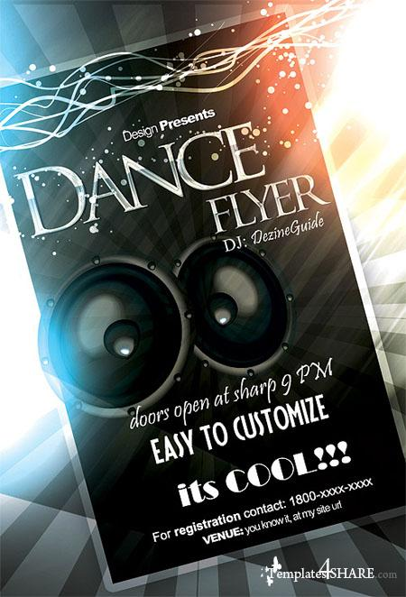 GraphicRiver Dance Flyer/Poster Template