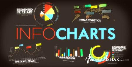 InfoCharts - Project for After Effects (Videohive)