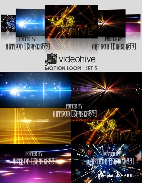 Videohive Motion Loops Pack - Set 3