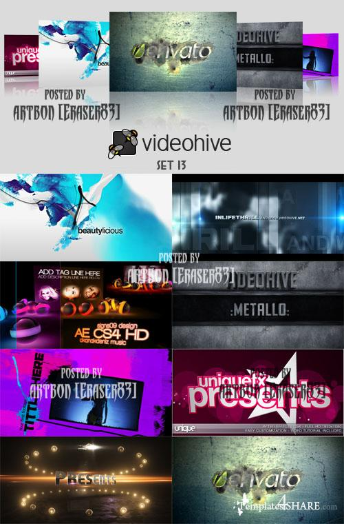 Videohive Projects Pack - Set 13