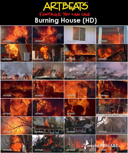 Artbeats Establishments: Burning House HD