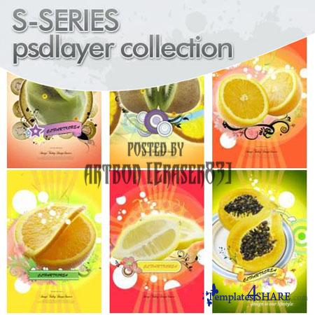Psdlayer Collection: S-Series