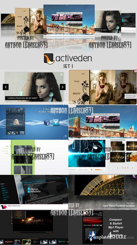 ActiveDen Flash Templates Pack 1
