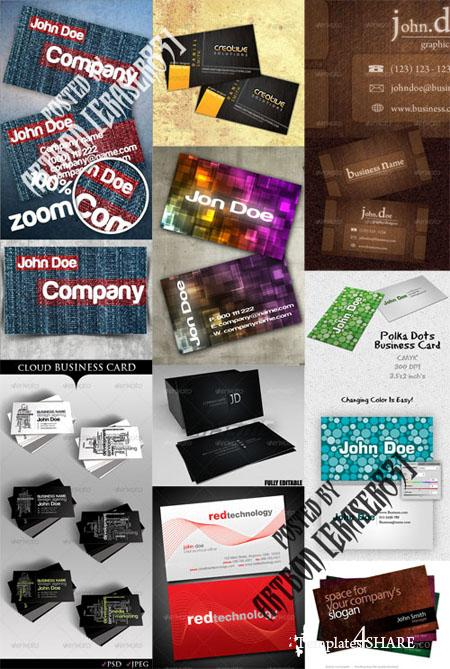GraphicRiver Business Cards Pack 3