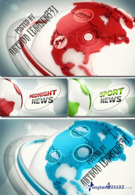 Broadcast Design News ID  - Project for After Effects (Videohive)