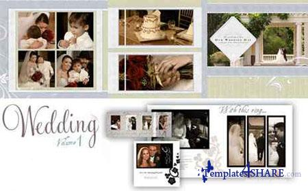 Graphic Authority: Wedding Templates Vol.1 - DVD 1