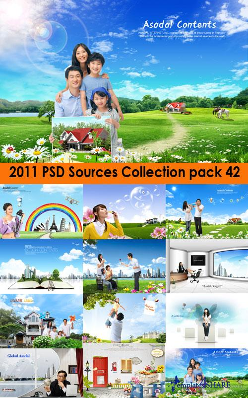 2011 PSD Sources Collection (Pack 42)
