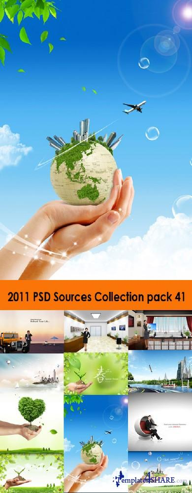 2011 PSD Sources Collection (Pack 41)