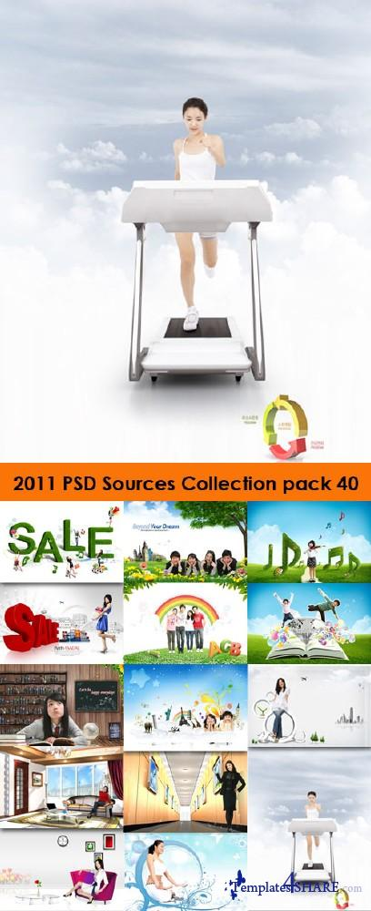 2011 PSD Sources Collection (Pack 40)
