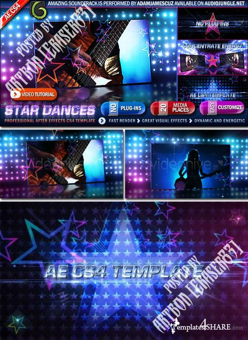 Star Dances Promo  - Project for After Effects (Videohive)