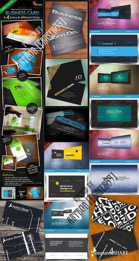GraphicRiver Business Cards Pack 4