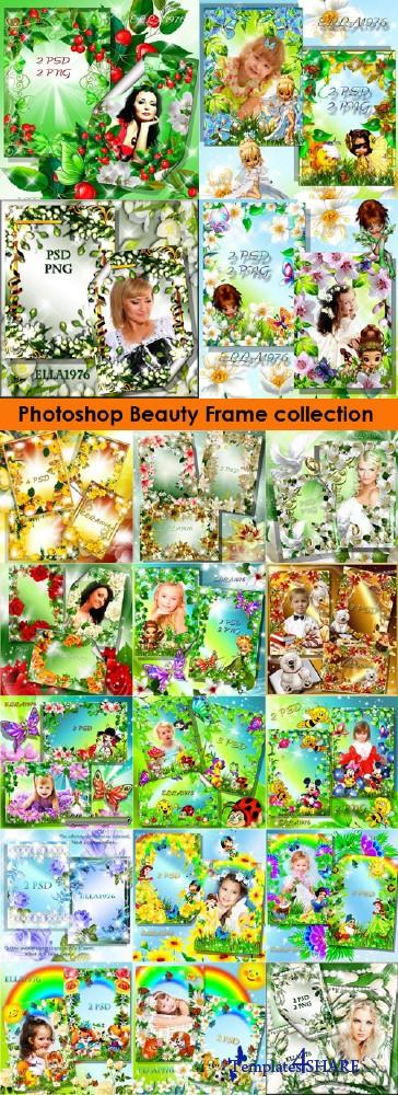 Photoshop Beauty Frames Collection (Volume 1)