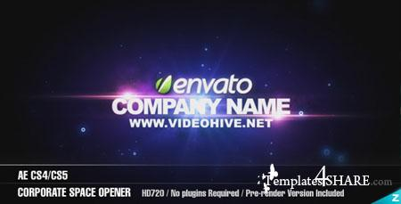 AE Corporate Space Opener  - Project for After Effects (Videohive)