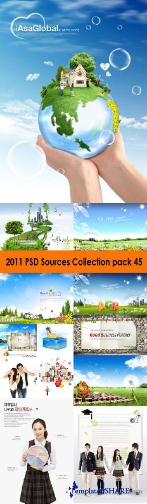 2011 PSD Sources Collection (Pack 45)