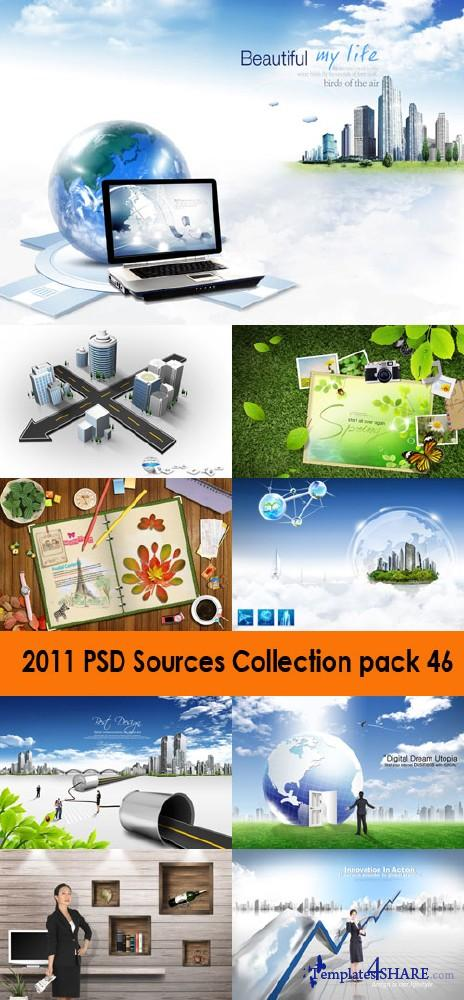 2011 PSD Sources Collection (Pack 46)