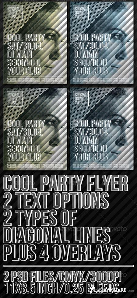 GraphicRiver Cool Party Poster