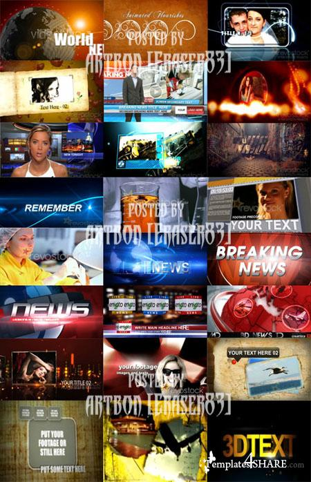 Videohive and RevoStock Projects Huge Collection