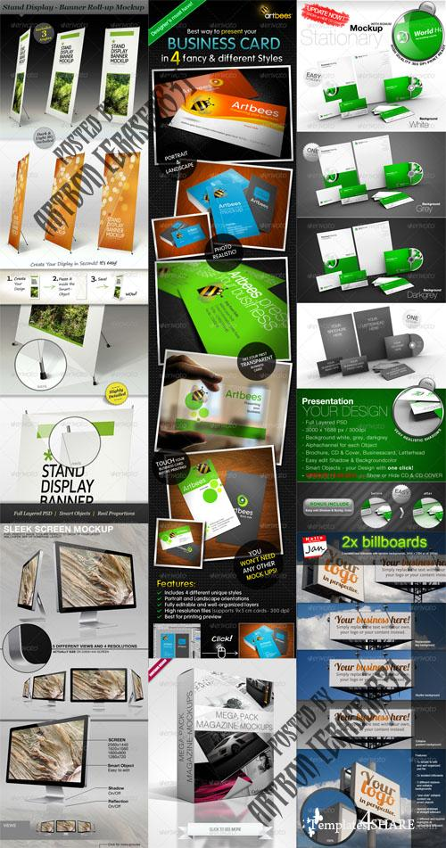 GraphicRiver Mockup Generator Pack 3