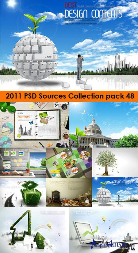 2011 PSD Sources Collection (Pack 48)