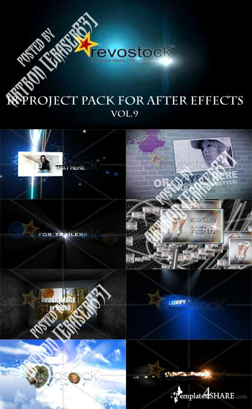 18 Project Pack for After Effects Vol.9 (Revostock)