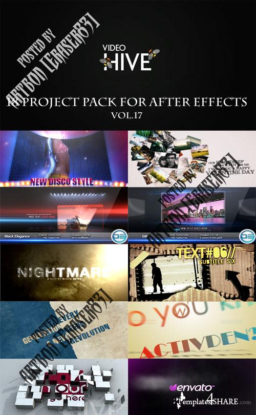 18 Project Pack for After Effects Vol.17 (Videohive)